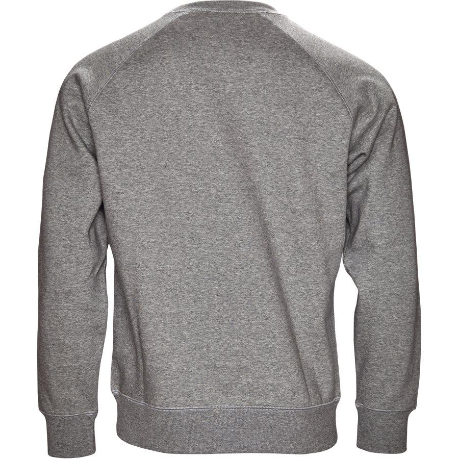 CHASE SWEAT I024652 - Chase Sweat - Sweatshirts - Regular - GREY HTR/GOLD - 2